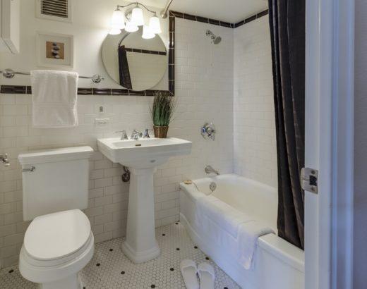 keep windowless bathroom fresh