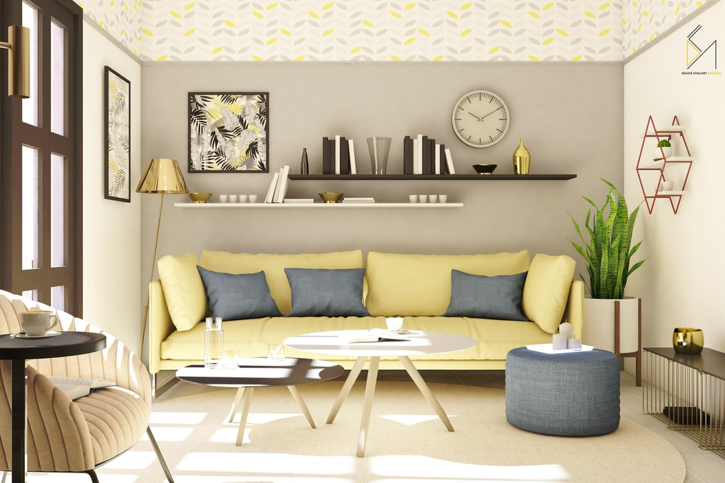 17 Ways to Arrange Furniture in an Awkward Living Room ...